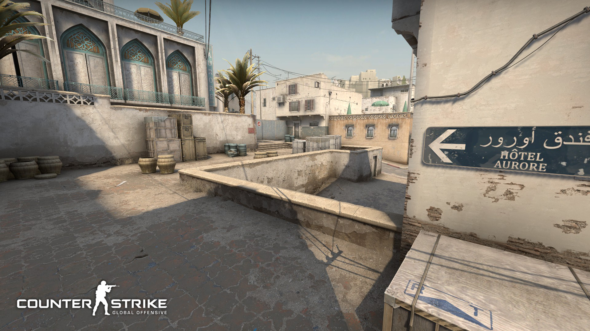 Counter Strike: Global Offensive Dust II. Virtual background to use on Zoom, Microsoft Teams, Skype, Google Meet, WebEx or any other compatible app.