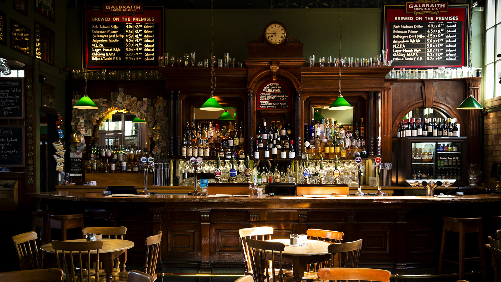 Galbraith's Alehouse. Virtual background to use on Zoom, Microsoft Teams, Skype, Google Meet, WebEx or any other compatible app.