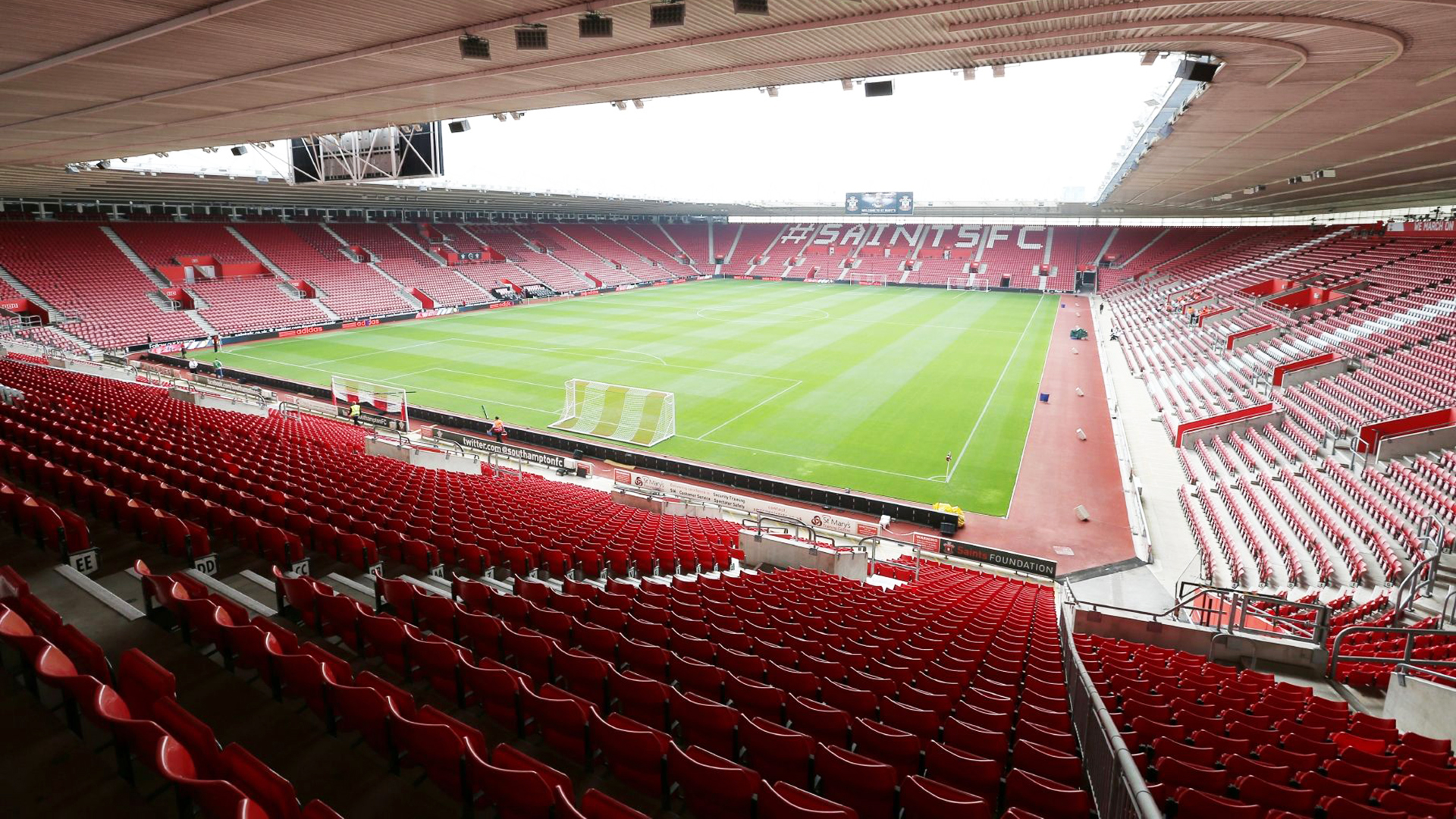 St Mary's Stadium. Virtual background to use on Zoom, Microsoft Teams, Skype, Google Meet, WebEx or any other compatible app.