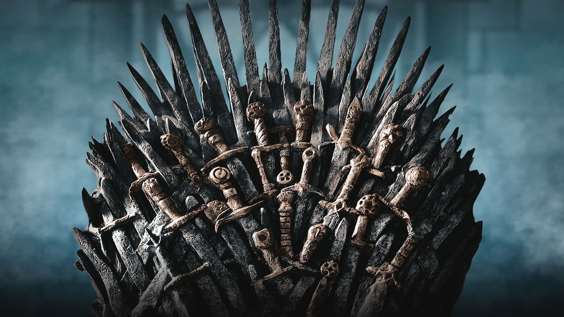 Game of Thrones Iron Throne. Virtual background to use on Zoom, Microsoft Teams, Skype, Google Meet, WebEx or any other compatible app.